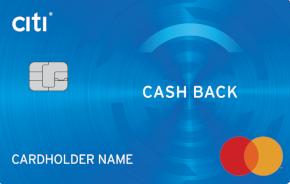Citibank - Кредитная карта Cashback